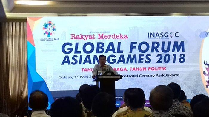 JK : Aksi Teror Kemungkinan Berefek Pada Asian Games