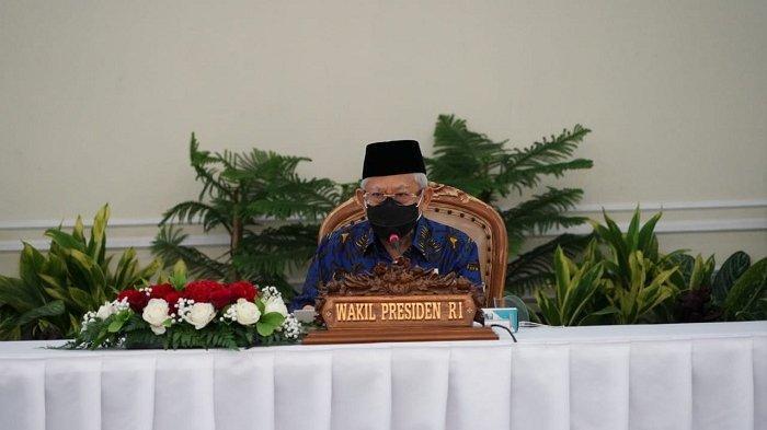 Pimpin Rapat Soal Kesejahteraan di Papua, Maruf Amin Tekankan Pentingnya Stabilitas Polhukam