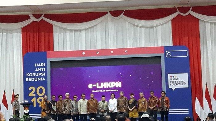 Maruf Amin Beri Penghargaan 13 Instansi Pengelolaan LKHPN Terbaik dalam Peringatan Hakordia 2019