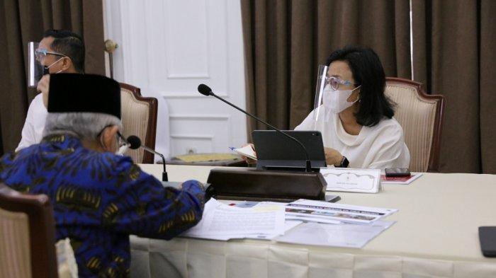 Pimpin Rapat Bersama Sejumlah Menteri, Wapres Bahas Pemberdayaan UMK Hingga Bank Wakaf Mikro