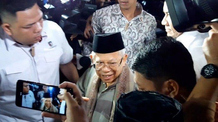 Ma'ruf Amin Sebut Menkopolhukam Wiranto Sudah Bisa Berbincang dan Kondisinya Semakin Membaik