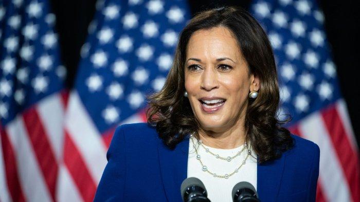 Sosok Kamala Harris, Wakil Presiden Wanita Pertama di AS yang Suaminya Rela 'Diduakan'