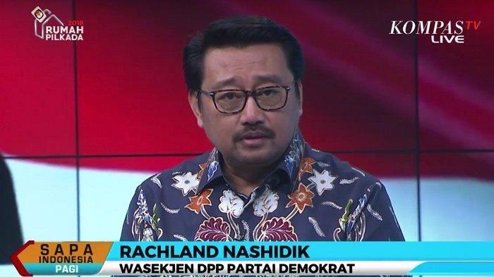 Wakil Sekretaris Jenderal DPP Partai Demokrat Rachland Nashidik