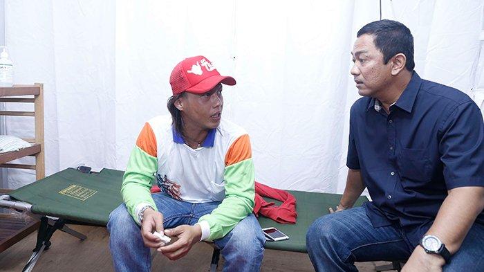 Wali Kota Hendi Jenguk Pemudik Sakit Di Posko Kesehatan Kota Semarang