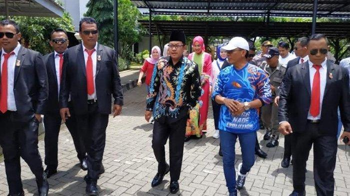 Resmikan Fitness Centre, Wali Kota Malang Dikawal Bodyguard Berseragam ala Paspampres