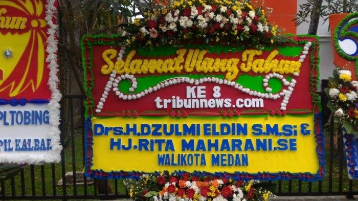 Wali Kota Medan Dzulmi Eldin Ucapkan Selamat HUT ke-8 Tribunnews.com