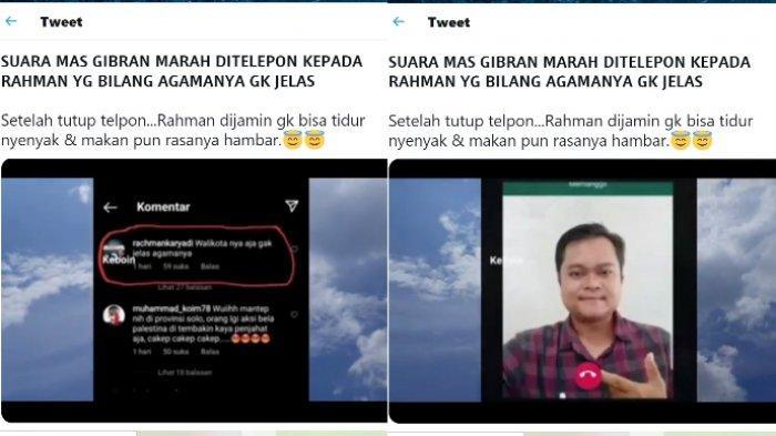Wali Kota Solo Gibran Rakabuming Raka membantah dituding marah-marah