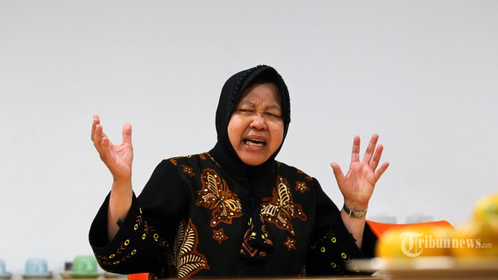 Disebut Berpeluang Jadi Gubernur DKI hingga Dipuji Megawati, Ini Tanggapan Risma Wali Kota Surabaya