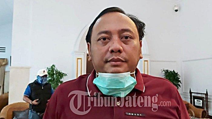 Wali Kota Tegal Dedy Yon Supriyono, Jumat (27/3/2020)