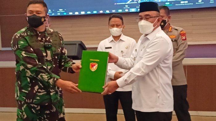 Kodam Jaya Dan Forum Komunikasi Pimpinan Daerah Kota Depok Gelar Tentara Manunggal Membangun Desa