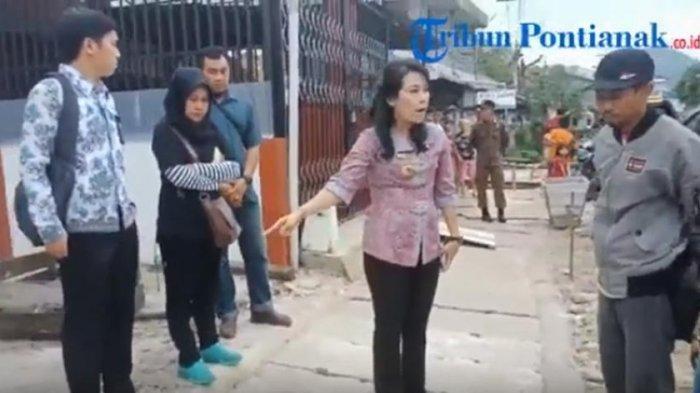 Video Wali Kota Singkawang Ngamuk Marahi Kontraktor di Hadapan Warga: Kita Kerja Itu Coba Pakai Hati
