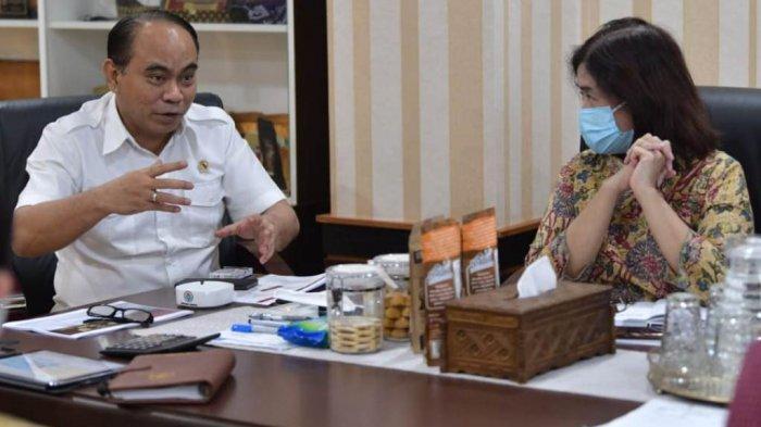 Wamendes PDTT dan Deputi V KSP Diskusi Pengentasan Daerah Tertinggal di Tanah Papua