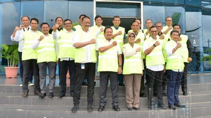 Wamenhan Kunjungi PT GMF AeroAsia Menjajaki Kerja Sama