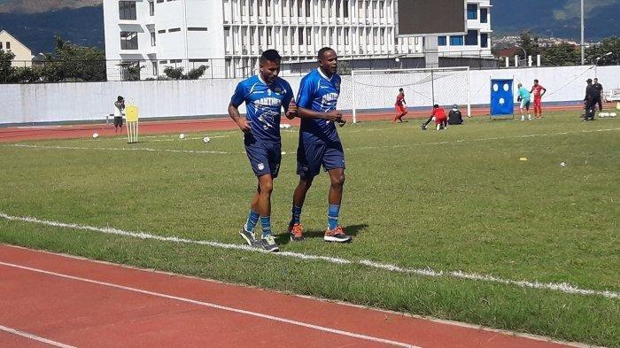 Wander Luiz dan Joel Vinicius, trial di Persib Bandung