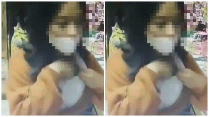 Wanita Berseragam SMA Curi HP, Masukan ke Bra, Aksi Terekam CCTV dan Viral di Medsos