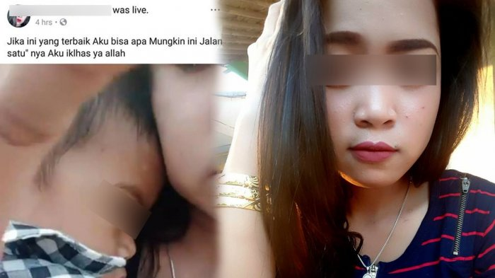 Video Viral Wanita Live Facebook sambil Gendong Anak di Pinggir Sungai, Diduga Hendak Bunuh Diri