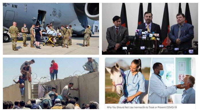 POPULER Internasional: Wanita Afghanistan Melahirkan di Pesawat | FDA Peringatkan soal Ivermectin