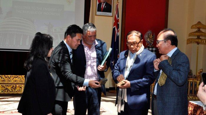 Wantimpres Bertemu dengan Badan Otoritas Pariwisata Maori