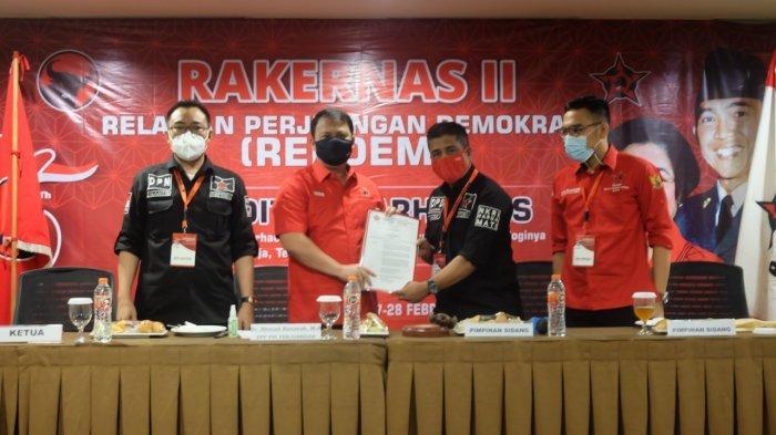 Wanto Sugito Terpilih Jadi Ketua Umum Repdem, Organisasi Sayap PDI Perjuangan