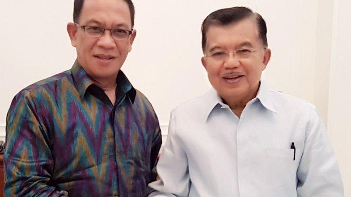 Kunjungi Lingga, JK Dianugerahi Gelar Adat Melayu Seri Perdana Wira Negara