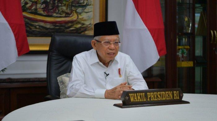 Ma'ruf Amin Dukung Keputusan Presiden Jokowi Calonkan Komjen Listyo Sigit Prabowo Jadi Kapolri