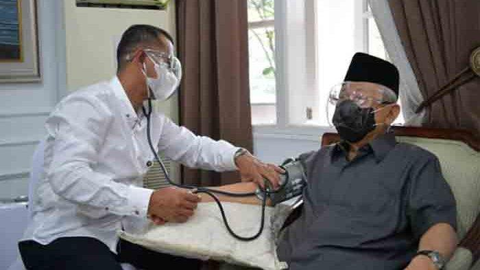 Wapres Ma'ruf Divaksin, Doni Monardo: Perlindungan Kesehatan kepada Lansia