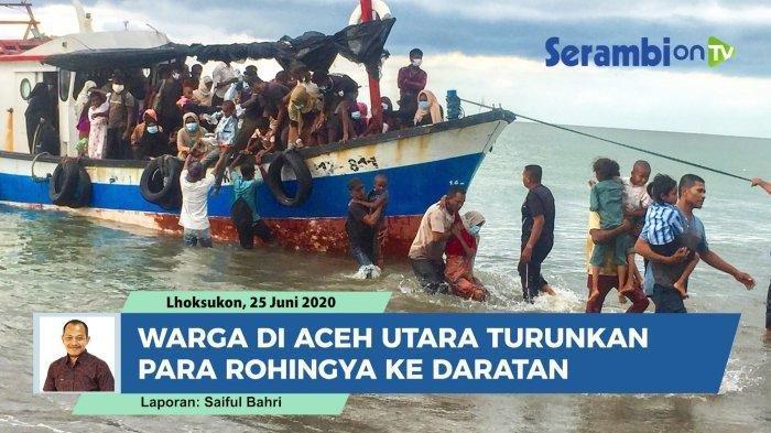 99 Pengungsi Rohingya Ditampung di Lhokseumawe Aceh Utara, Hanya 42 Orang yang Pegang Kartu UNHCR