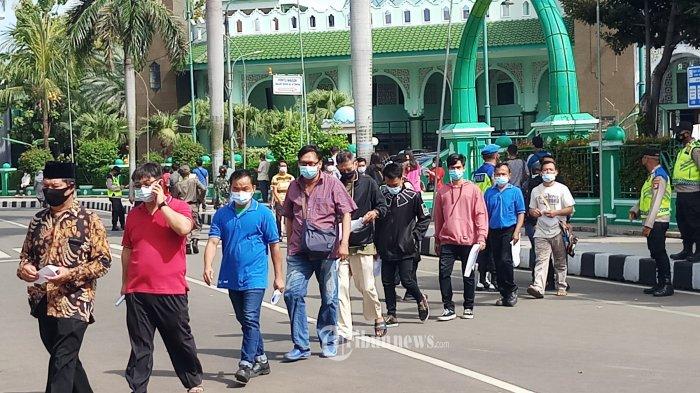 Dalam Sehari 60 Orang Positif Covid-19 di Kota Tangerang Setelah Lebaran