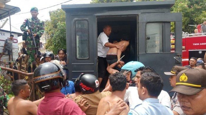 Buntut Kerusuhan, 191 Narapidana Rutan Kabanjahe Dipindahkan ke 5 Lokasi Berbeda