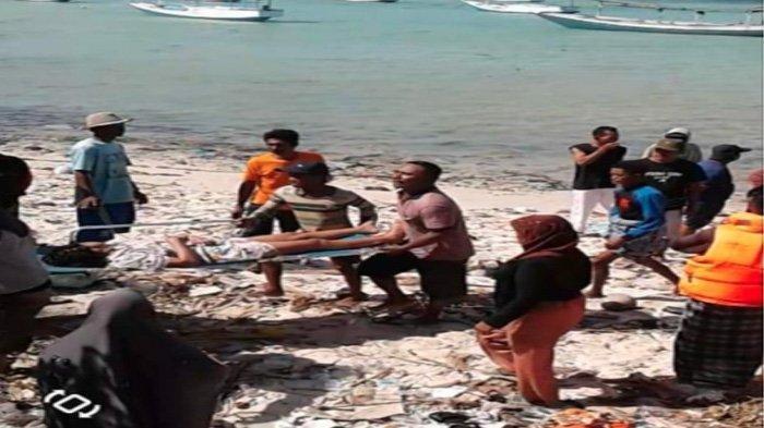 303 Korban Terbakarnya Kapal KM Santika Nusantara Berhasil Dievakuasi