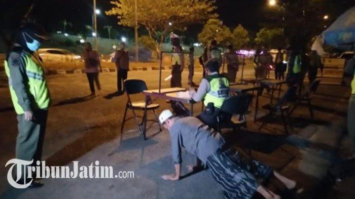 2 Jam Operasi Yustisi di Jembatan Suramadu, Petugas Temukan 7 Pengendara Motor Tak Pakai Masker
