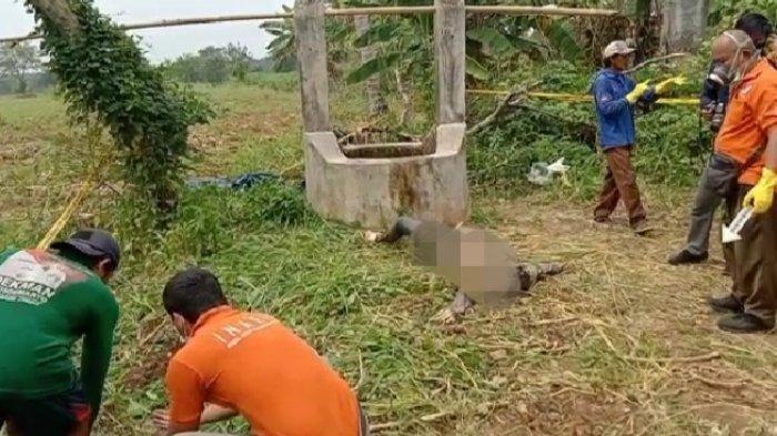 Warga Kampung Tanjung Ratu Ilir, Kecamatan Way Pengubuan, Lampung Tengah digegerkan dengan penemuan mayat perempuan, Selasa (20/4/2021) pagi.