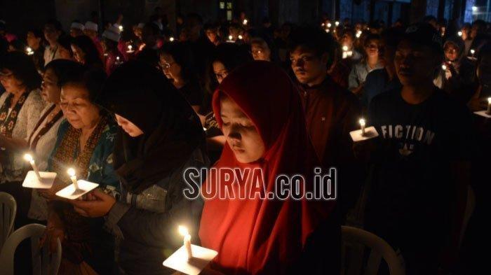Peringatan Setahun Bom Surabaya: Ipda Rahmat Maafkan Pelaku Meski Kini Matanya Tak Bisa Melihat Lagi