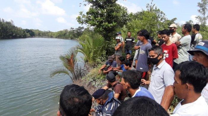 Seorang Pria Diterkam Buaya Diduga Sepanjang 4 M saat Mencuci Timah, Dibawa ke Tengah Sungai