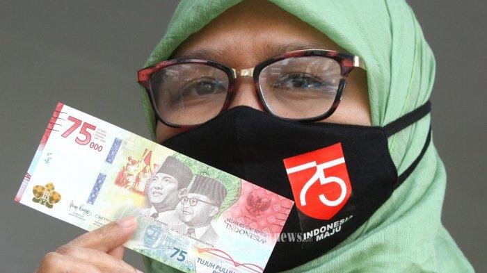 Jadwal dan Syarat Penukaran Uang Baru Rp 75.000 Melalui Bank Mandiri, BNI, BRI, BCA dan CIMB Niaga