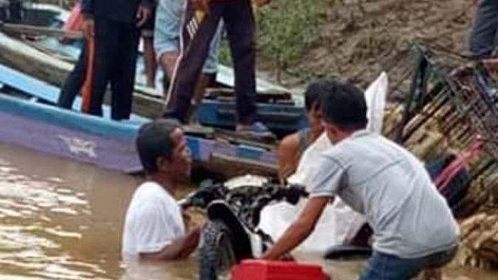 Sudah Lebih 24 Jam, Aidil yang Tenggelam di Sungai Batanghari Belum Ditemukan