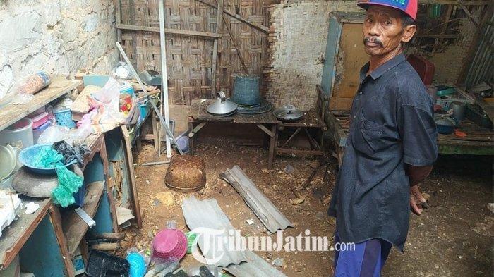 Seorang Pria Tersambar Petir saat Perbaiki Alat Bangunan, Korban Terpental, Rumahnya juga Rusak