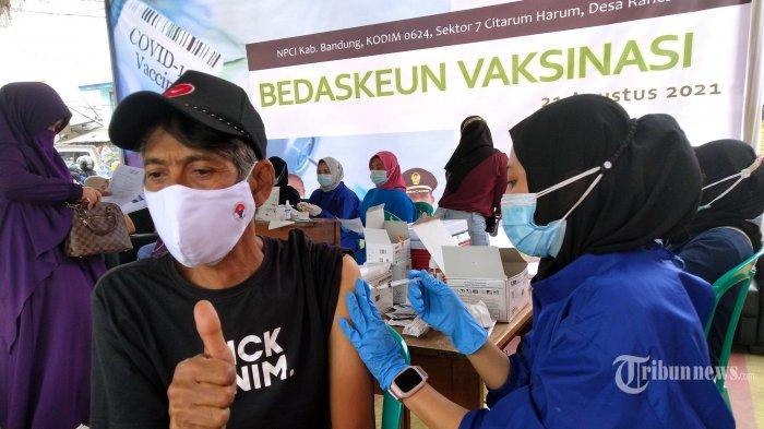 57 Juta Orang Sudah Disuntik Vaksin Covid-19 Dosis Pertama, Dosis Kedua 31 Juta