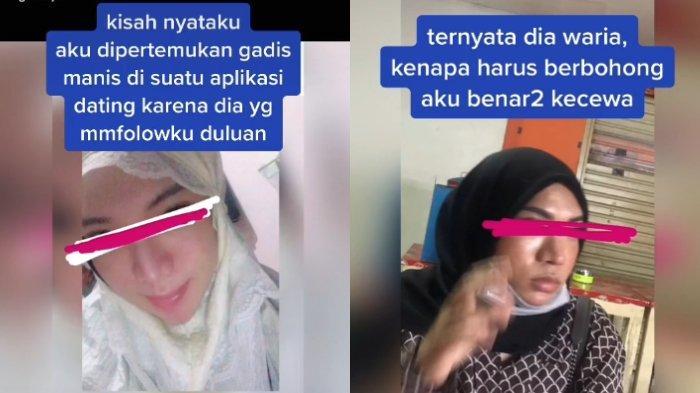 VIRAL Pria Tertipu Gadis yang Ternyata Laki-laki, Kenal Lewat Online, Kaget saat Bertemu Langsung
