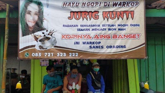 Pakai Nama Jurig Kunti Bawa Keberuntungan Bagi Janda Dua Anak Di Cianjur Ini Usaha Warung Kopi Tribunnews Com Mobile