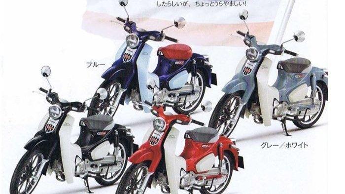 Motor Honda Super Cub C125 Harga Seken Tembus Rp 70 Juta Begini