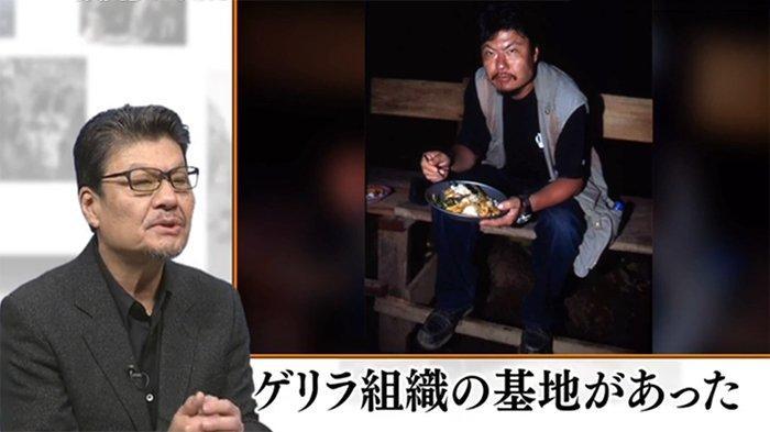 Wartawan Jepang Kazutaka Sato (64) menceritakan pengalaman bulan Maret 2001 bersama gerilyawan Aceh saat makan malam bersama.