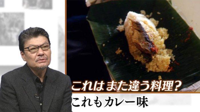 Wartawan Jepang Kazutaka Sato dan makanan dengan ikan sarden.