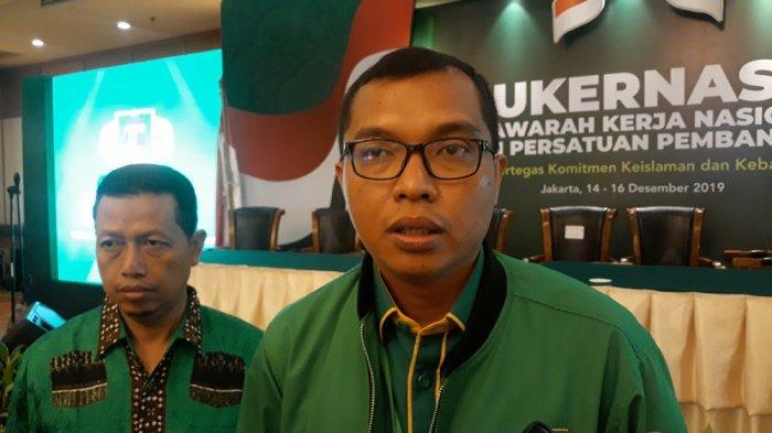 Wasekjen PPP Achmad Baidowi di Hotel Grand Sahid Jaya, Minggu (15/12/2019).
