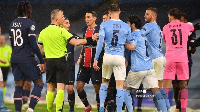 Pengakuan Mengejutkan Pemain PSG, Sudah Kalah dari Man City, Dimaki Wasit Pula