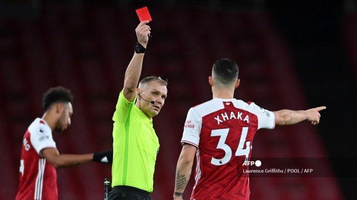 Arsenal vs Tottenham Liga Inggris, Jangan Mainkan Xhaka, Arteta!