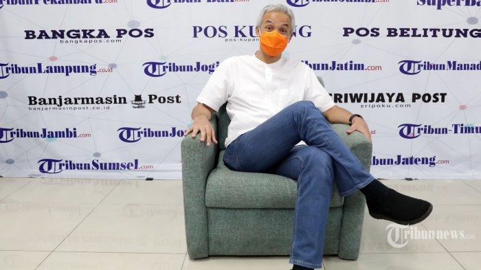 Survei Pilpres, Ganjar Kalahkan Prabowo dan Anies