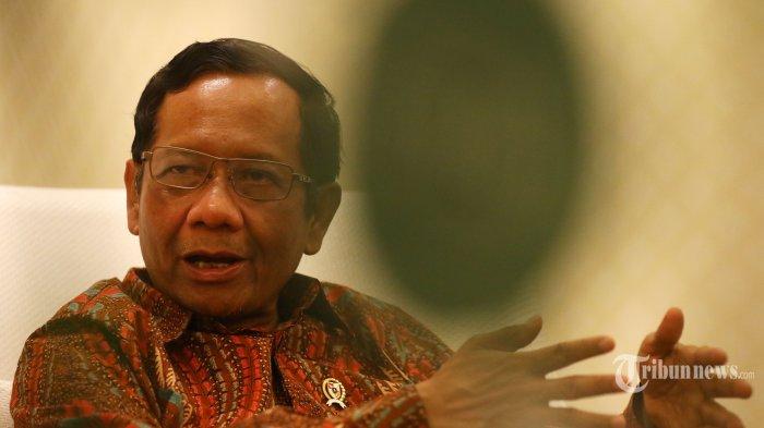 Mahfud MD Kaget saat Prabowo Ditunjuk jadi Menteri Petahanan