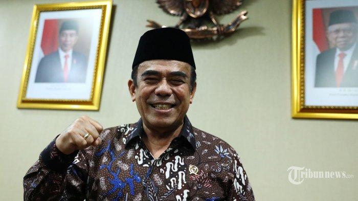 Menteri Agama Fachrul Razi berpose usai wawancara khusus dengan Tribunnews.com di Kantor Kementerian Agama, Jakarta, Jumat (31/1/2020).