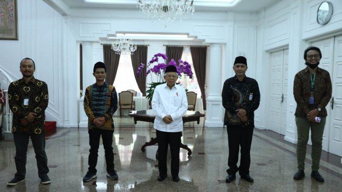 Tribun Network melakukan wawancara khusus dengan Wapres KH Maruf Amin